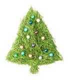 Verfraaide kerstboom Stock Afbeeldingen