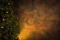Verfraaide Kerstboom royalty-vrije stock foto's
