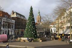 Verfraaide Kerstboom Royalty-vrije Stock Fotografie