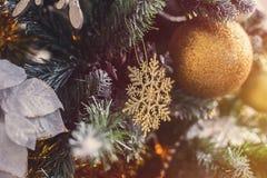 Verfraaide Kerstmis Stock Fotografie