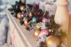 Verfraaide Kerstmis Royalty-vrije Stock Afbeelding