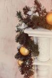Verfraaide Kerstmis Royalty-vrije Stock Foto