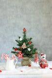 Verfraaide Kerstmis Royalty-vrije Stock Afbeeldingen
