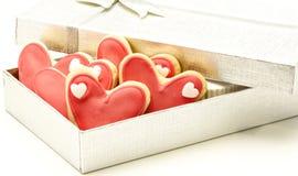 Verfraaide koekjes Stock Foto