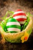 Verfraaide Oostelijke eieren stock afbeelding