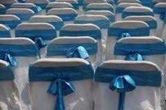 Verfraaide stoelen stock foto's
