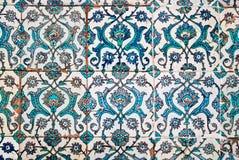 Verfraaide tegels, Arabische stijl stock afbeelding