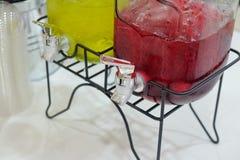 Verfris Thaise kruid koude drank royalty-vrije stock fotografie