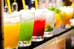 Verfrissende cocktail Stock Foto's