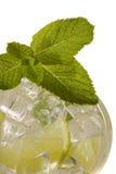 Verfrissende drank Mojito Royalty-vrije Stock Fotografie