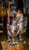 Verfrissende dranken op een hete dag royalty-vrije stock foto