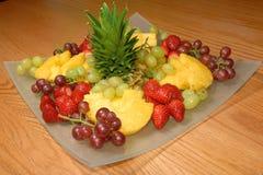 Verfrissende fruitsalade Stock Afbeelding