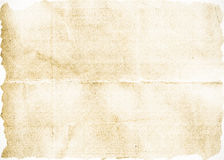 Verfrommelde document achtergrond Stock Afbeeldingen