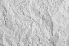 Verfrommelde document textuur Royalty-vrije Stock Afbeeldingen