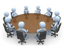 Vergadering Royalty-vrije Stock Foto's