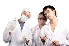 Vergadering van artsen Stock Afbeelding