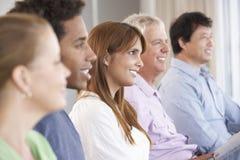 Vergadering van Steungroep Stock Foto's