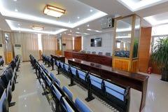 Vergaderzaal van middelbare school van de ningde de nationale minderheid, rgb adobe Royalty-vrije Stock Foto's