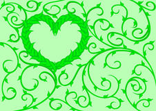 Vergankelijk hart 2 Stock Foto