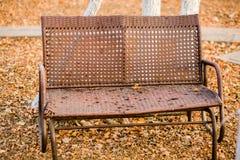 Vergankelijke stoel royalty-vrije stock afbeelding