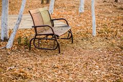 Vergankelijke stoel stock afbeelding