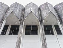 Övergav byggnader Arkivbild