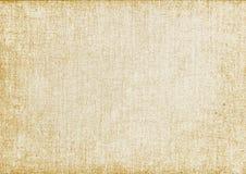 vergeeld oud canvas Vector illustratie Royalty-vrije Illustratie