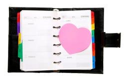 Vergeet de dag van de Valentijnskaart niet! Stock Afbeeldingen