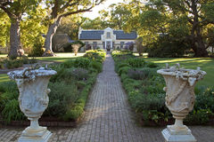 Vergelegen Homestead. Is situated in Somerset West, Western Cape, South Africa Stock Image