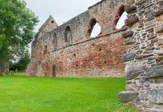 Vergessene alte schottische Abtei Stockbild