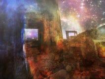 Vergessene Ecke des Universums Lizenzfreie Stockbilder
