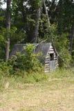 Vergeten cabine royalty-vrije stock fotografie