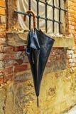 Vergeten paraplu royalty-vrije stock fotografie