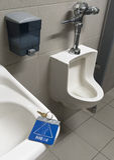 Vergeten toiletsleutel Stock Afbeelding