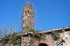 Vergeten toren Stock Foto's