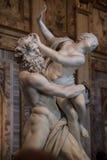 Vergewaltigung von Proserpine durch Gian Lorenzo Bernini Lizenzfreie Stockfotos