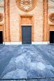 vergiate老高耸墙壁的意大利伦巴第 免版税图库摄影