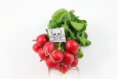 Vergiftigde vruchten en groenten Stock Foto