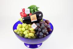 Vergiftigde vruchten en groenten Stock Fotografie