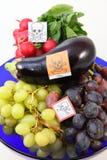 Vergiftigde vruchten en groenten Royalty-vrije Stock Afbeelding