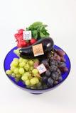 Vergiftigde vruchten en groenten Royalty-vrije Stock Foto