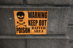 Vergiftteken Stock Afbeeldingen