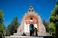 Vergine de Lourdes de Alta Gracia Iglesia Fotografia Stock Libera da Diritti