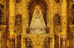 Vergine dell'altare di EL Rocio Immagini Stock Libere da Diritti
