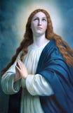 Vergine di Maria Fotografie Stock Libere da Diritti
