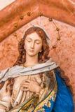Vergine Maria benedetto fotografia stock libera da diritti