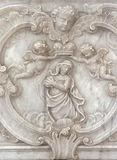 Vergine Mary Queen di cielo Fotografia Stock