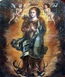 Vergine Mary Queen di cielo Fotografia Stock Libera da Diritti