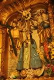 Vergine Mary Statue ad una chiesa fotografia stock libera da diritti
