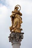 Vergine Santa huwt royalty-vrije stock afbeelding